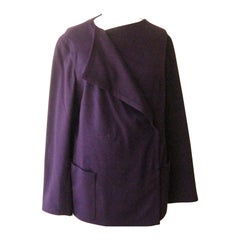A-K-R-I-S Punto Wool / Angora Jacket  14 US