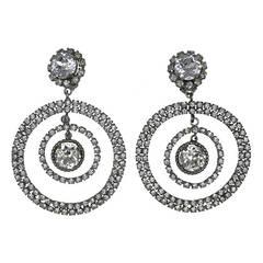 Massive Chanel Runway Orbital Earrings