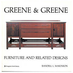"Greene & Greene, ""Architecture As Fine Art and Furniture and Related Designs"""