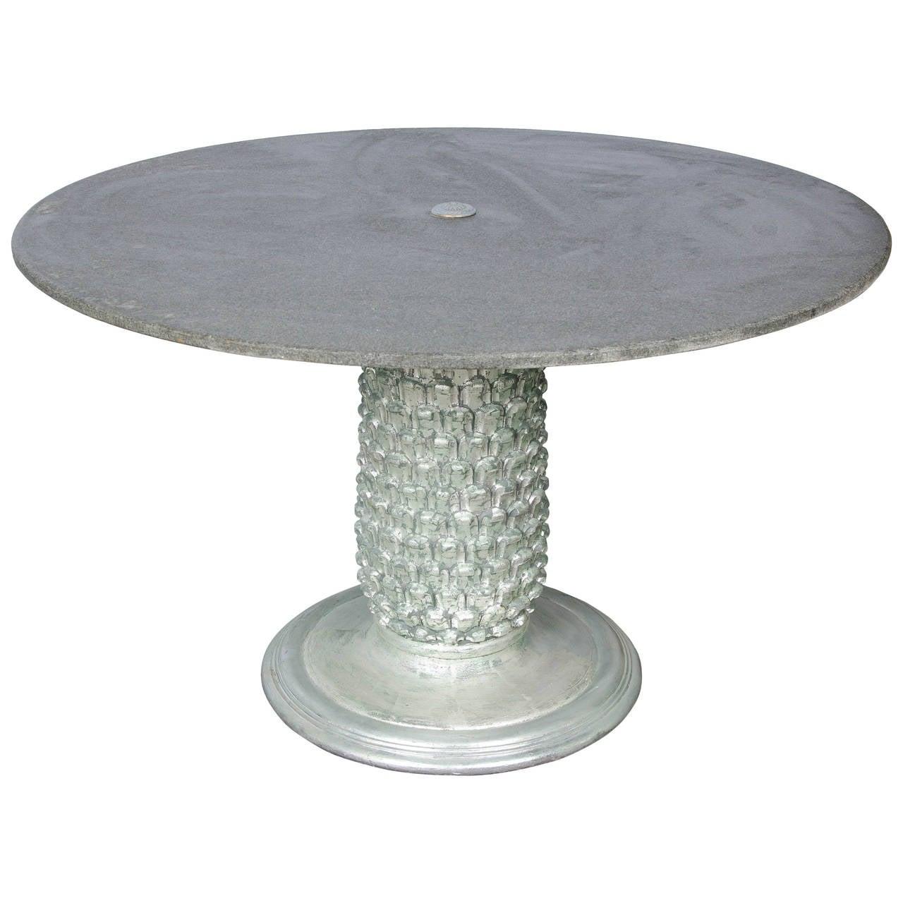 1950s Italian Pineapple Shape Dining Table At 1stdibs