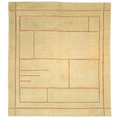 Early 20th Century French Savonnerie Art Deco Rug