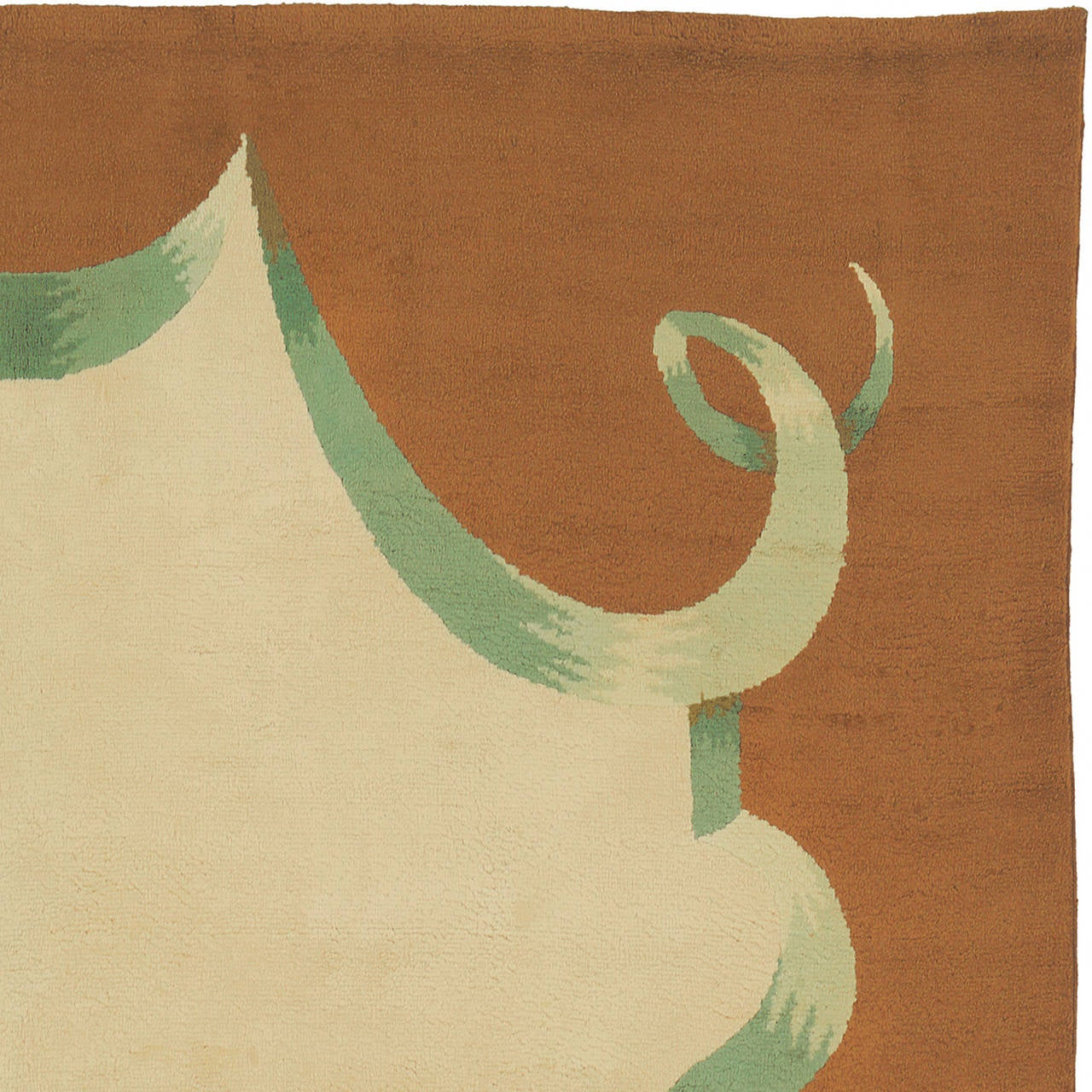 20th Century French Art Deco Carpet In Excellent Condition For Sale In New York, NY