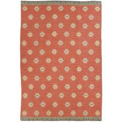 Mid 20th Century Swedish Flat-Weave Carpet