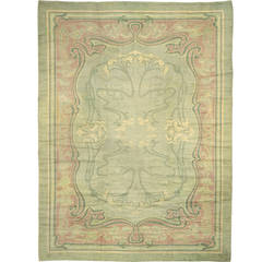 Early 20th Century Viennese Carpet, Art Nouveau Period