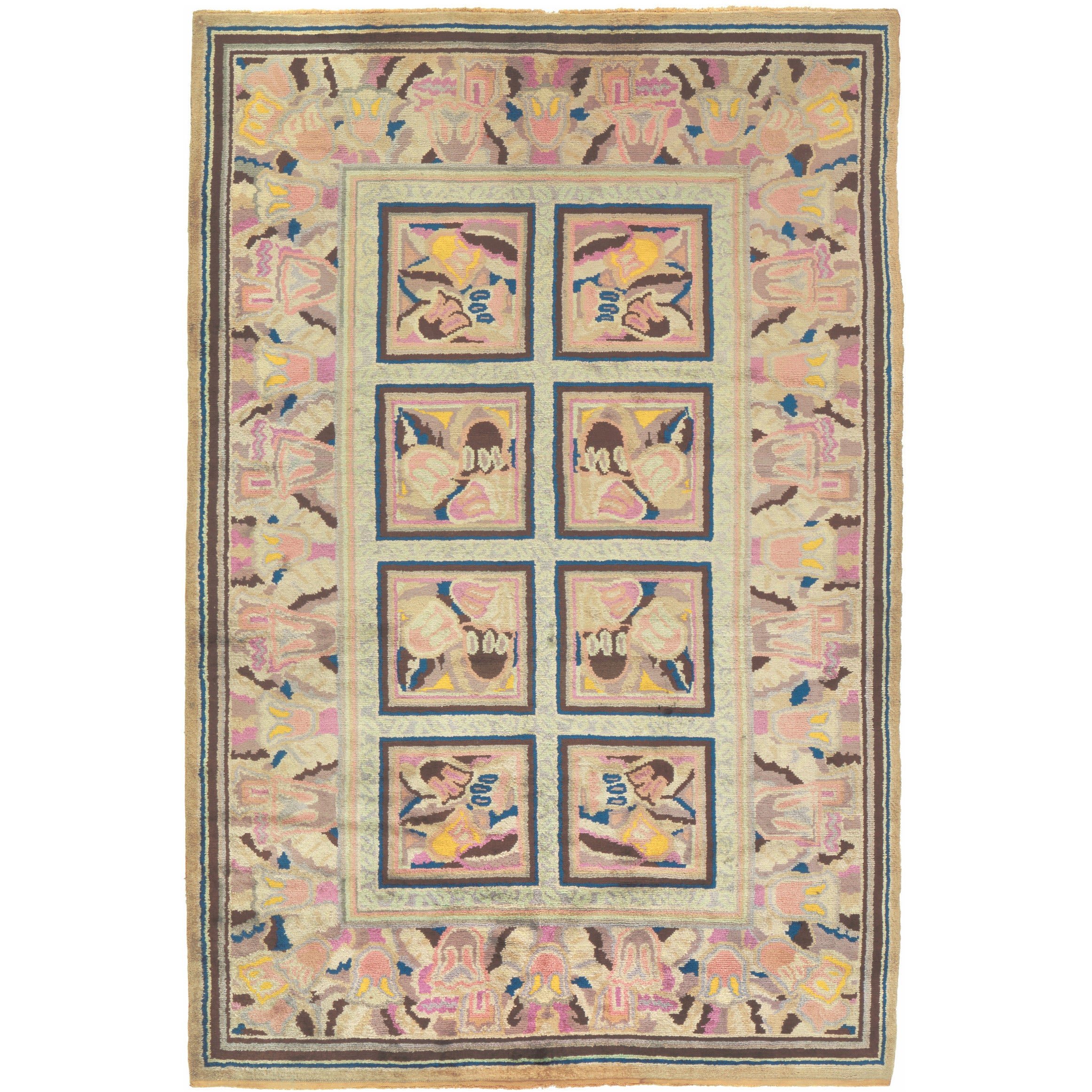 Early 20th Century French Art Deco Carpet