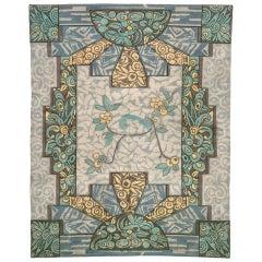 French Art Deco Carpet