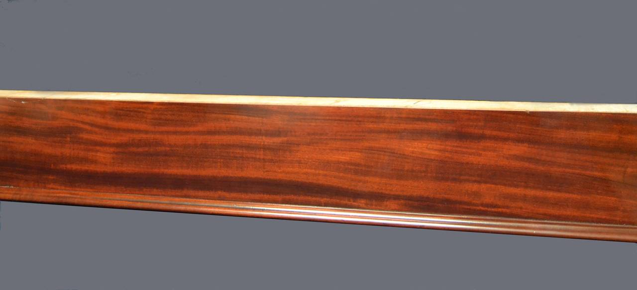 Early 19th Century Gillow's billiard snooker  pool table georgian mahogany english antique 1810  For Sale