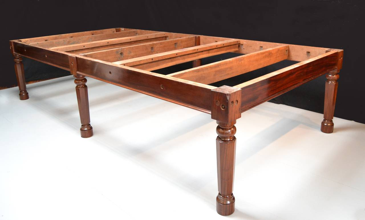 Gillow's billiard snooker  pool table georgian mahogany english antique 1810  In Excellent Condition For Sale In Chilcompton, Radstock