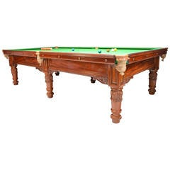 Antique Billiard, Snooker or Pool Table, circa 1830