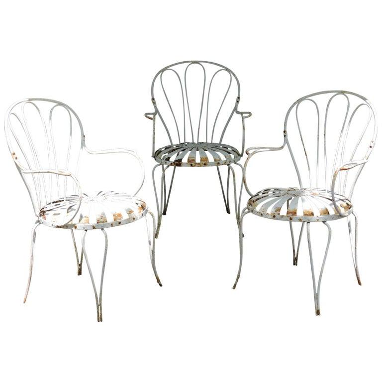 Iron Garden Chair Francois Carre For