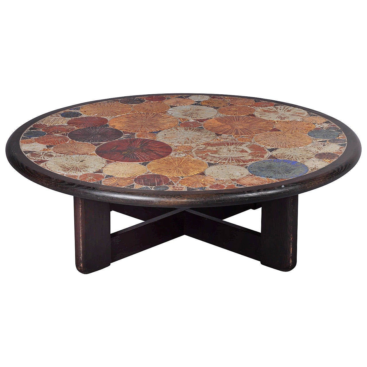 Tue Poulsen Ceramic Coffee Table At 1stdibs