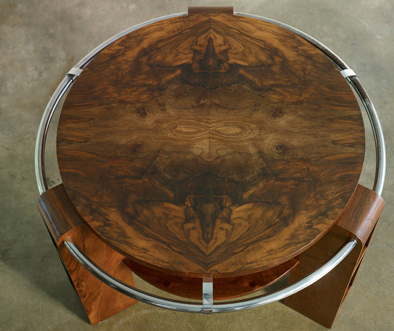 rare art deco gueridon for sale at 1stdibs. Black Bedroom Furniture Sets. Home Design Ideas