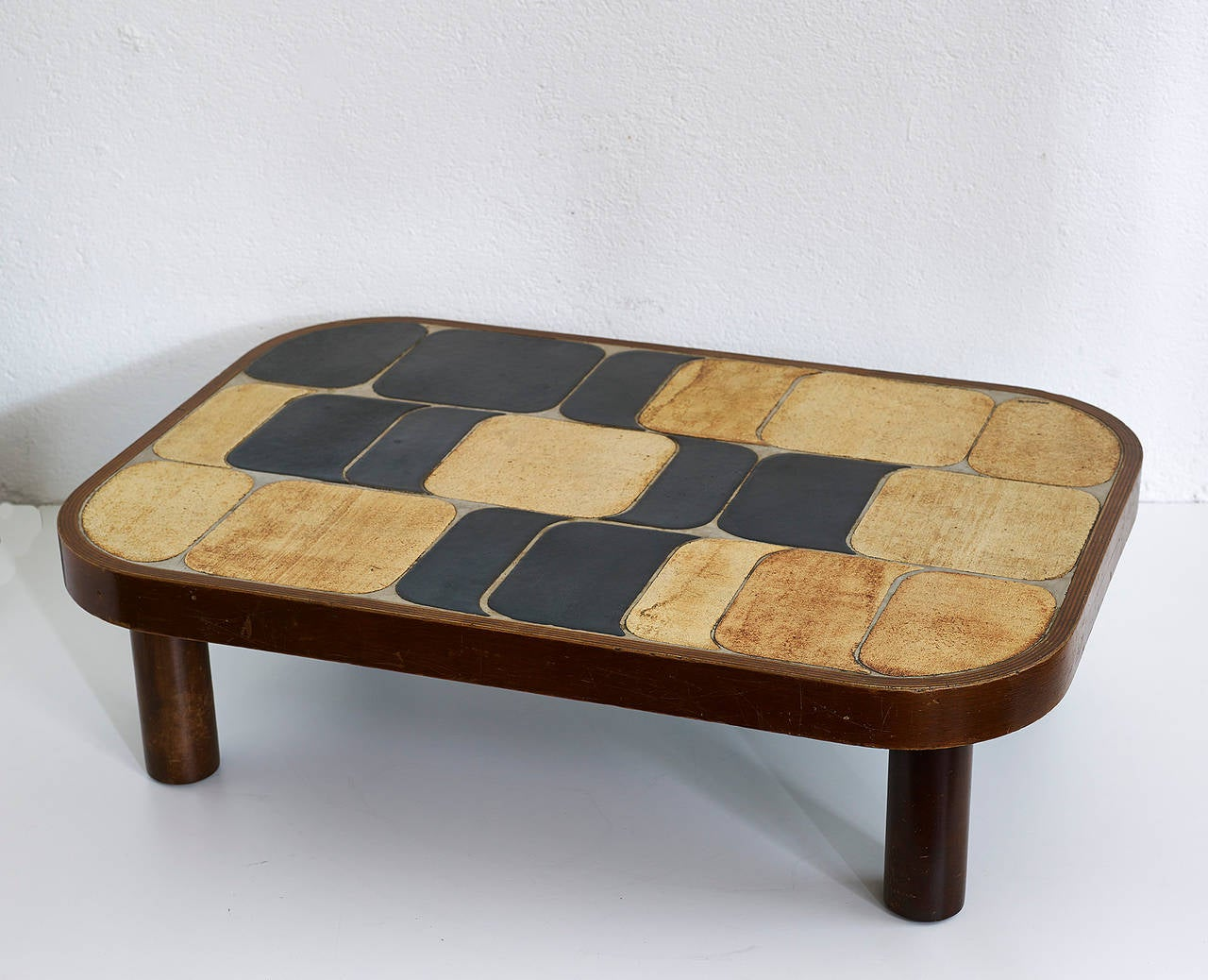 Shogun Coffee Table by Roger Capron For Sale at 1stdibs -> Table Basse Capron