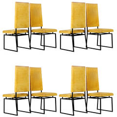 Eight Italian Dining Chairs