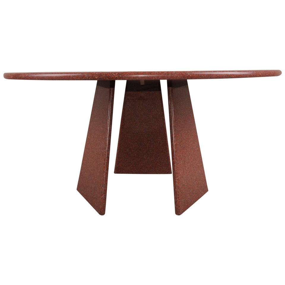 Big Asolo Dining Table by Angelo Mangiarotti in a Red  : 1350274 1 from www.1stdibs.com size 960 x 960 jpeg 57kB