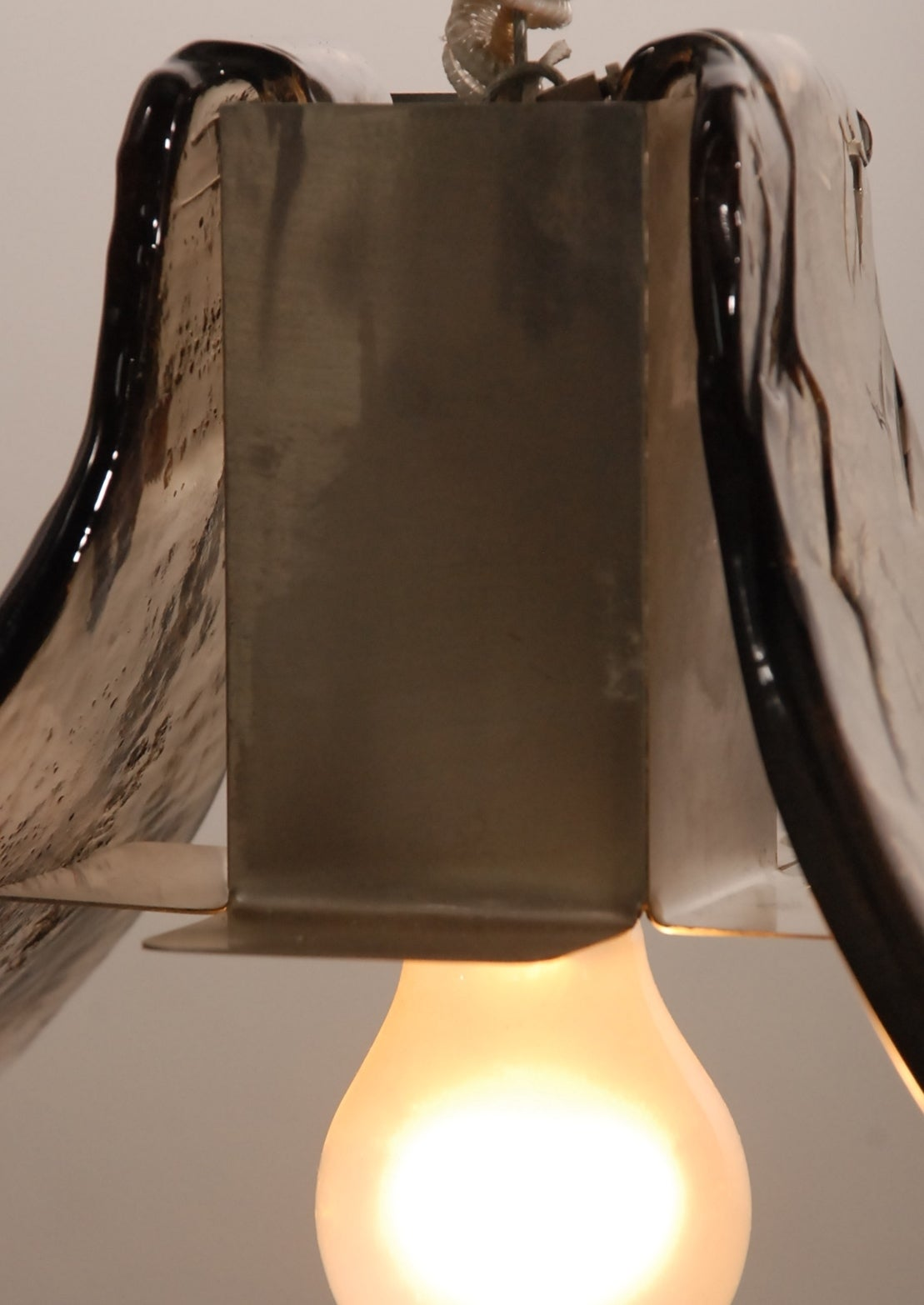 Superb Mazzega Ceiling Lamp From Carlo Nason Incl