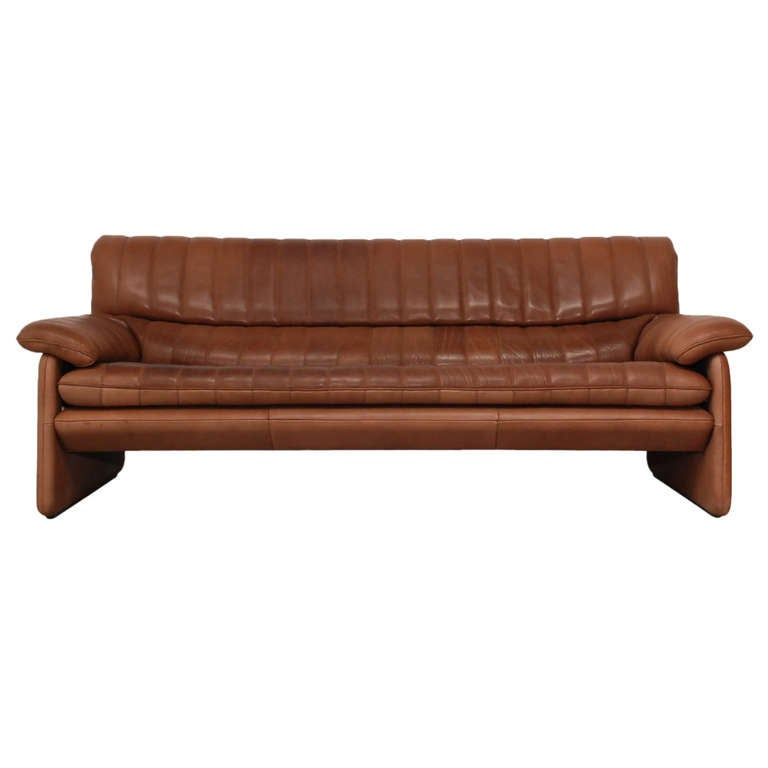 De Sede Ds 85 Three Seater In Thick Soft Leather Price