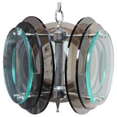 Italian Modernist pendant lamp