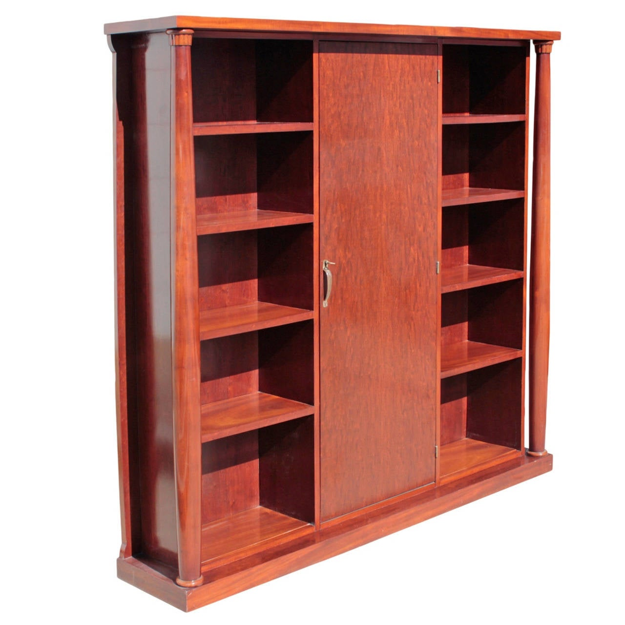 Exhibited French Art Deco Bookcase by Charlotte Chauchet-Guillere