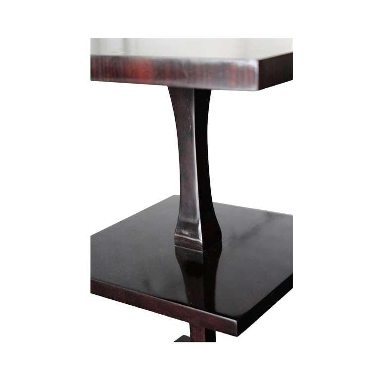 Swedish art deco pedestal petite etagere at 1stdibs - Etagere petite profondeur ...
