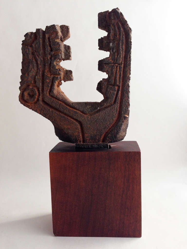 Female Figure by Paolo Soleri For Sale at 1stdibs