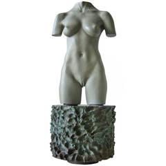 Robert Graham Bronze Moca Sculpture