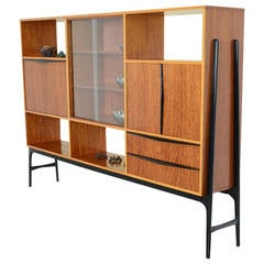 Wide Bar Cabinet by Alfred Hendrickx for Belform, 1958