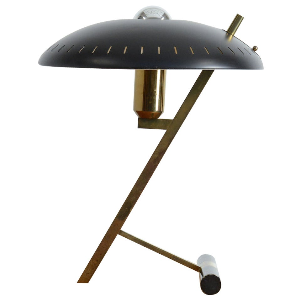 Desk Lamp by Louis Kalff for Philips, 1955. For Sale