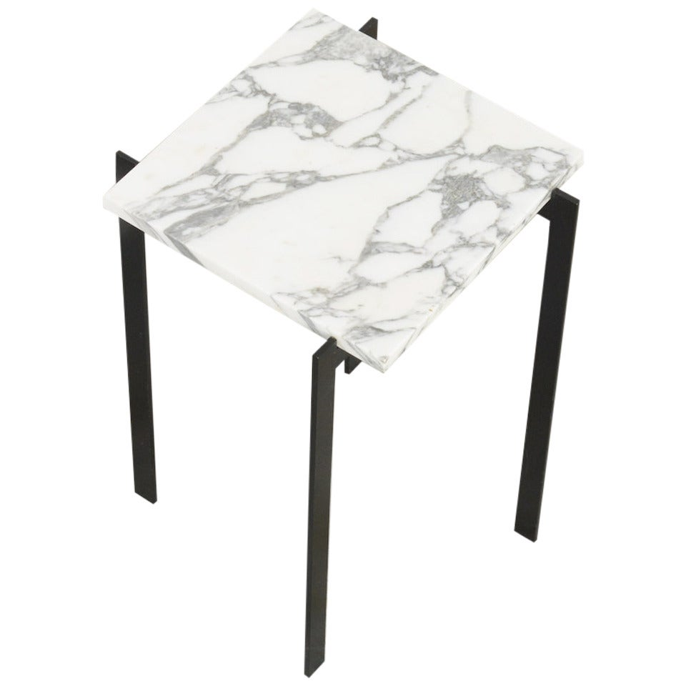 Side Table Inspired By Poul Kjaerholm At 1stdibs