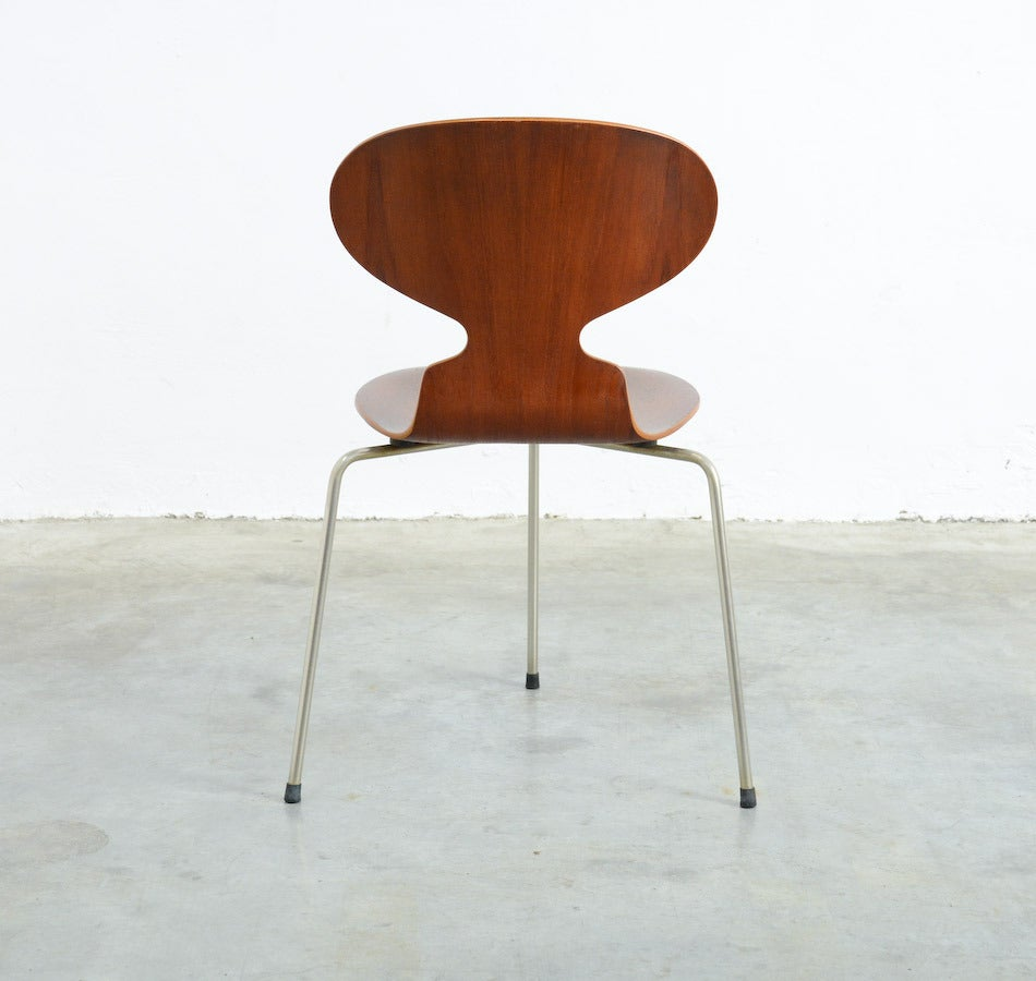 Danish Three-legged Ant Chair by Arne Jacobsen for Fritz Hansen