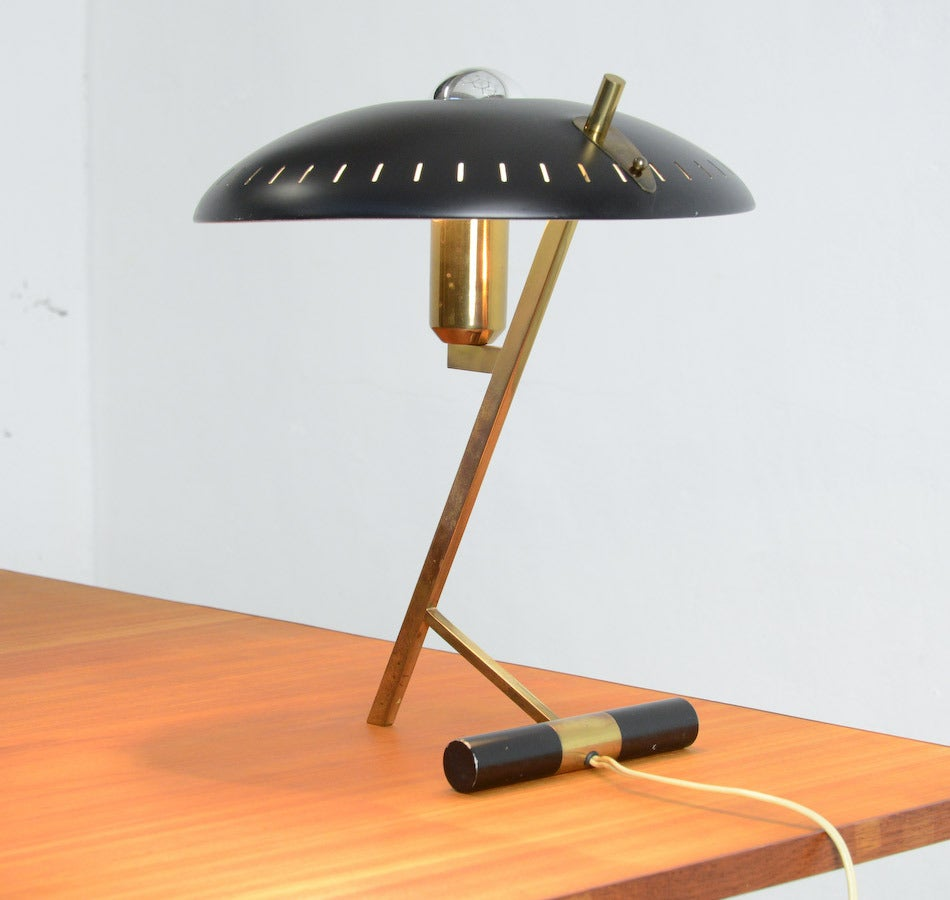 Dutch Desk Lamp by Louis Kalff for Philips, 1955. For Sale