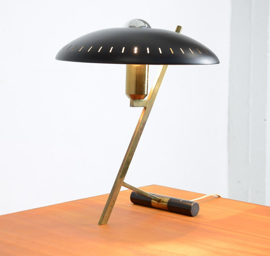 Desk Lamp by Louis Kalff for Philips, 1955. In Good Condition For Sale In Vlimmeren, BE