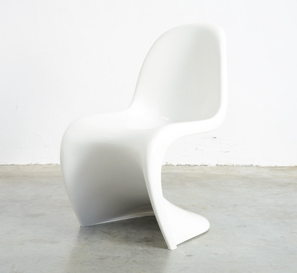 Set of 4 Stackable S Chairs by Verner Panton for Herman Miller, 1973 In Excellent Condition For Sale In Vlimmeren, BE