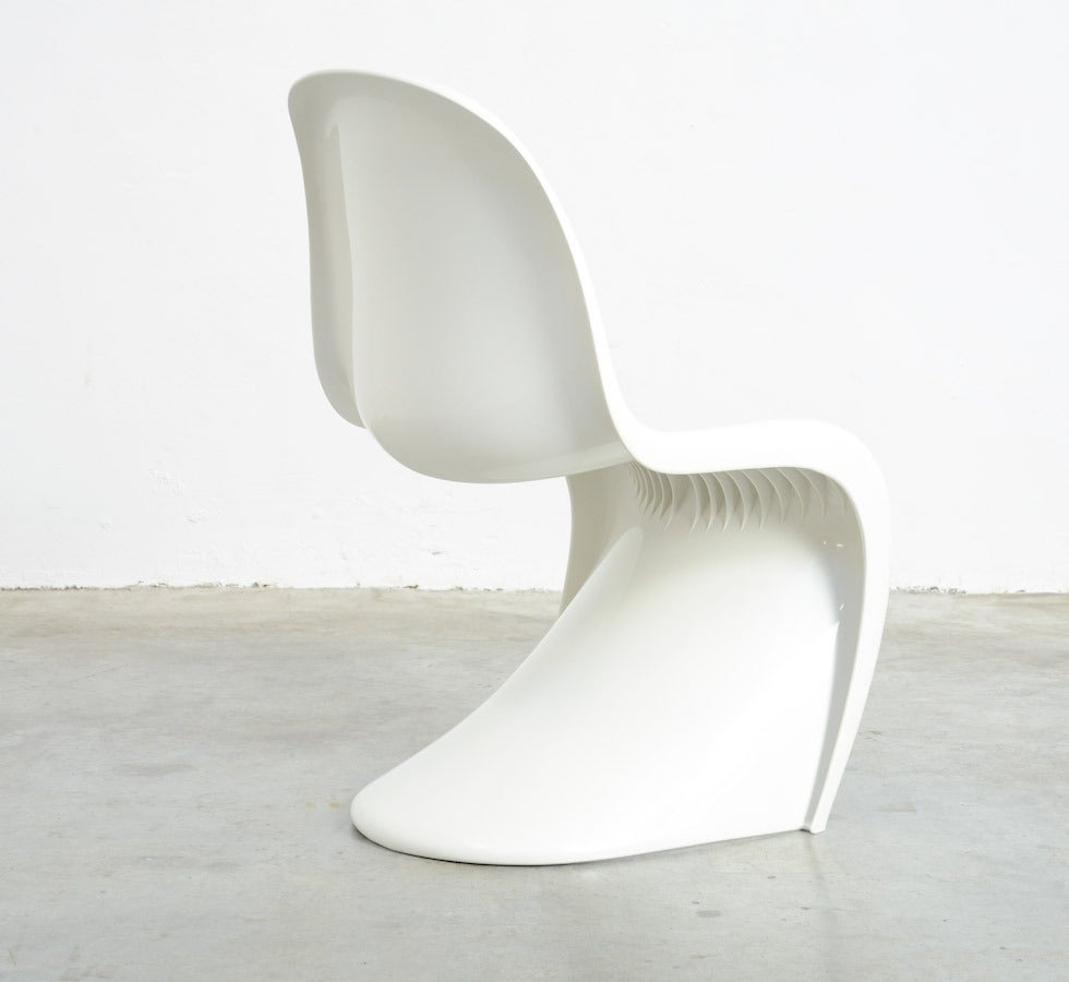 Set of 4 Stackable S Chairs by Verner Panton for Herman Miller, 1973 For Sale 1
