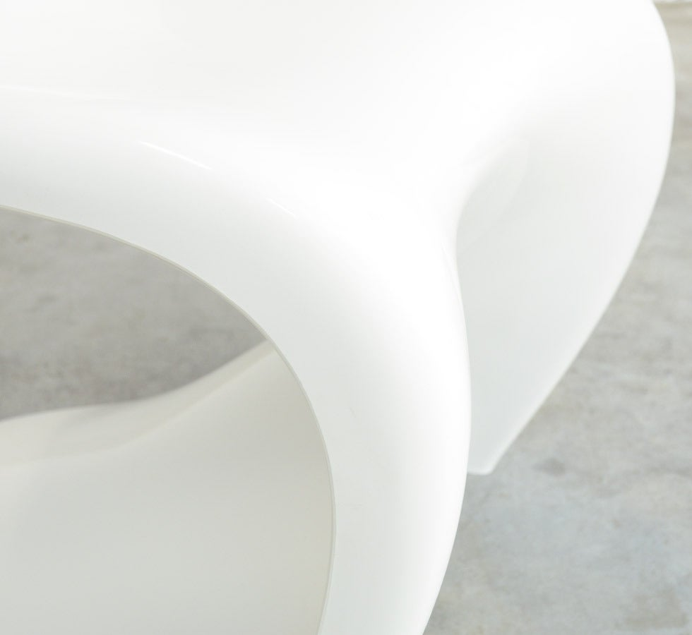 Set of 4 Stackable S Chairs by Verner Panton for Herman Miller, 1973 For Sale 3
