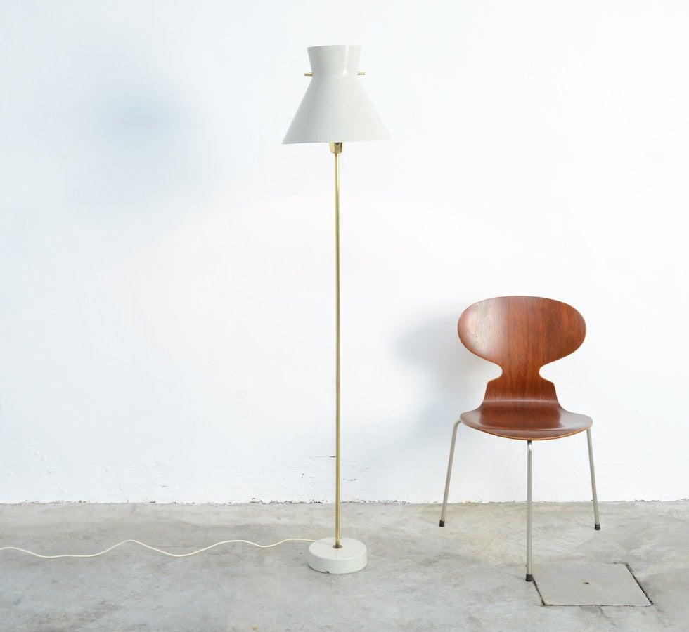 1950s swedish asea belysning floor lamp at 1stdibs for 1950s floor lamps