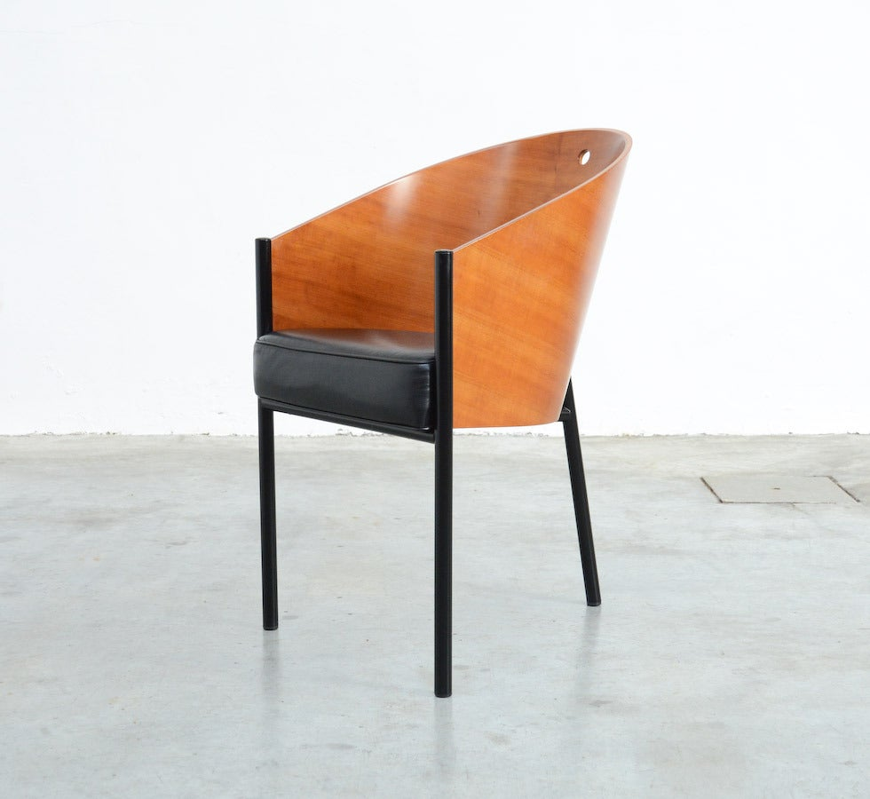 set of four costes chairs by philippe starck for driade aleph at 1stdibs. Black Bedroom Furniture Sets. Home Design Ideas