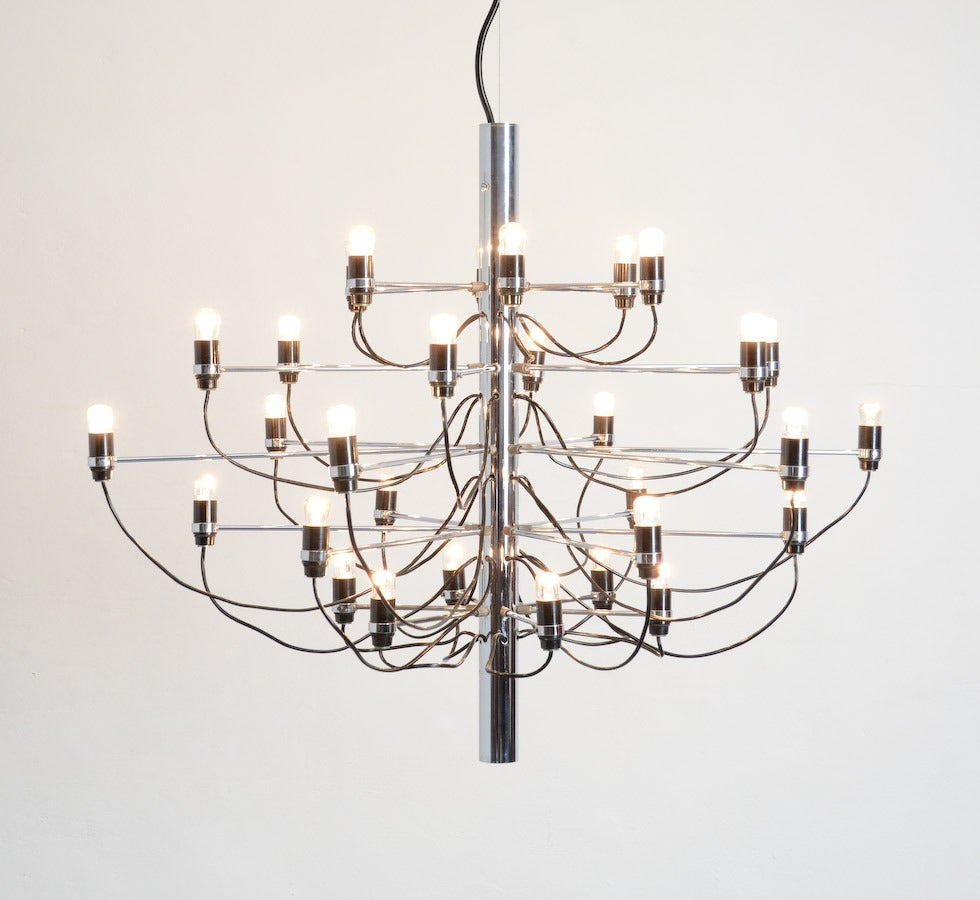 Chandelier by Gino Sarfatti for Arteluce, 1958 For Sale at ...