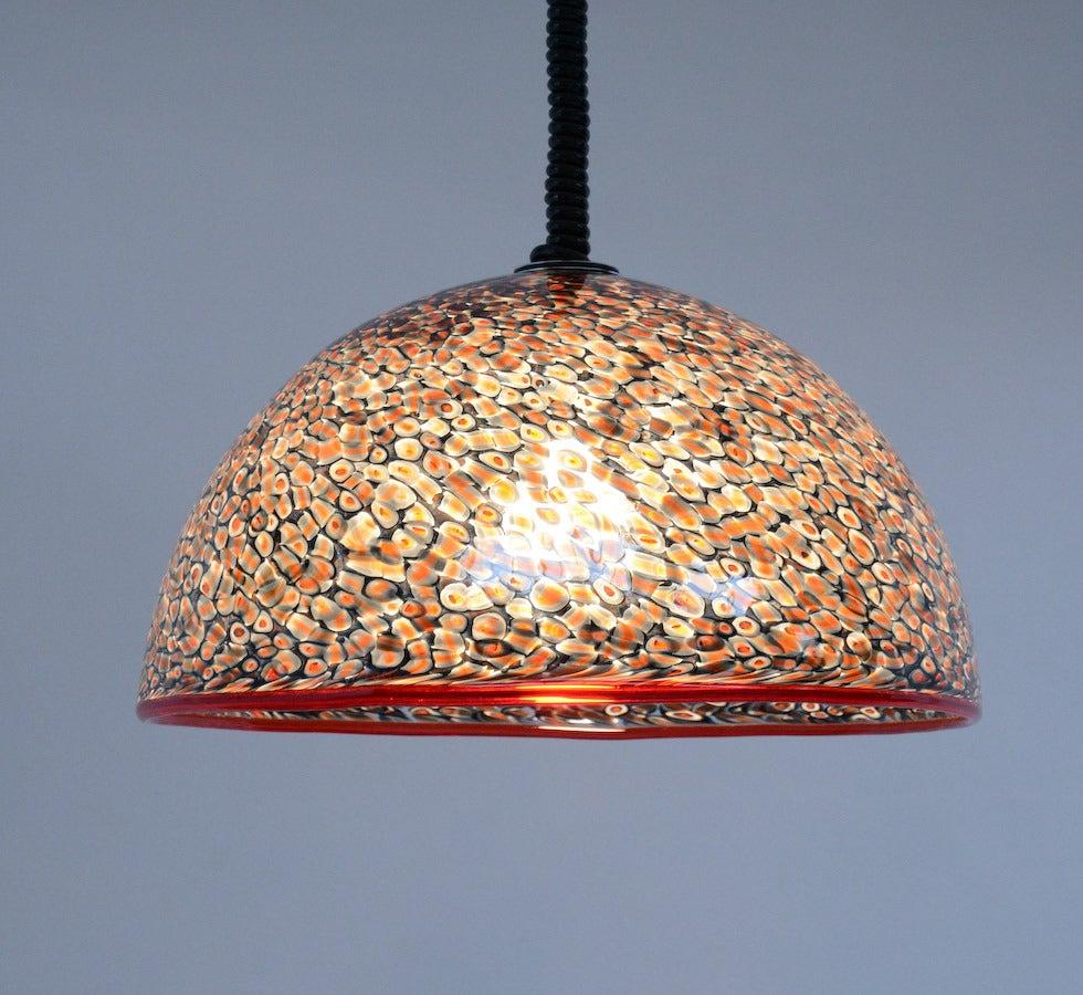 1970s Pendant Lamp Attributed To Gae Aulenti For Vistosi