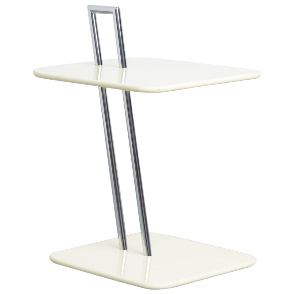 Eileen Gray Occasional Table Occasional Table by Eileen Gray for Vereinigte Werkstätten, 1985 at ...
