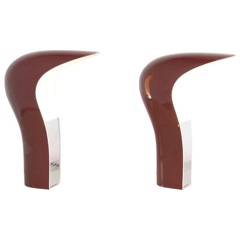 Pelota Desk Lamp by C. Casati and E. Ponzio for Lamperti
