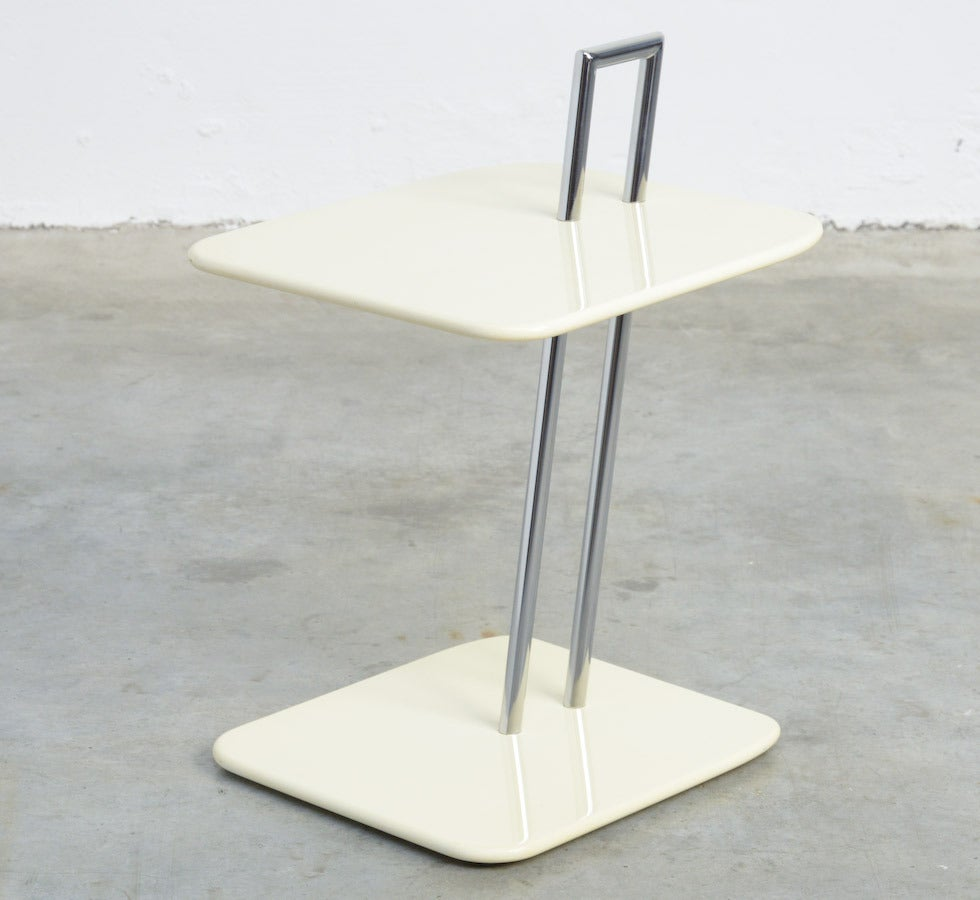 occasional table by eileen gray for vereinigte werkst tten 1985 at 1stdibs. Black Bedroom Furniture Sets. Home Design Ideas
