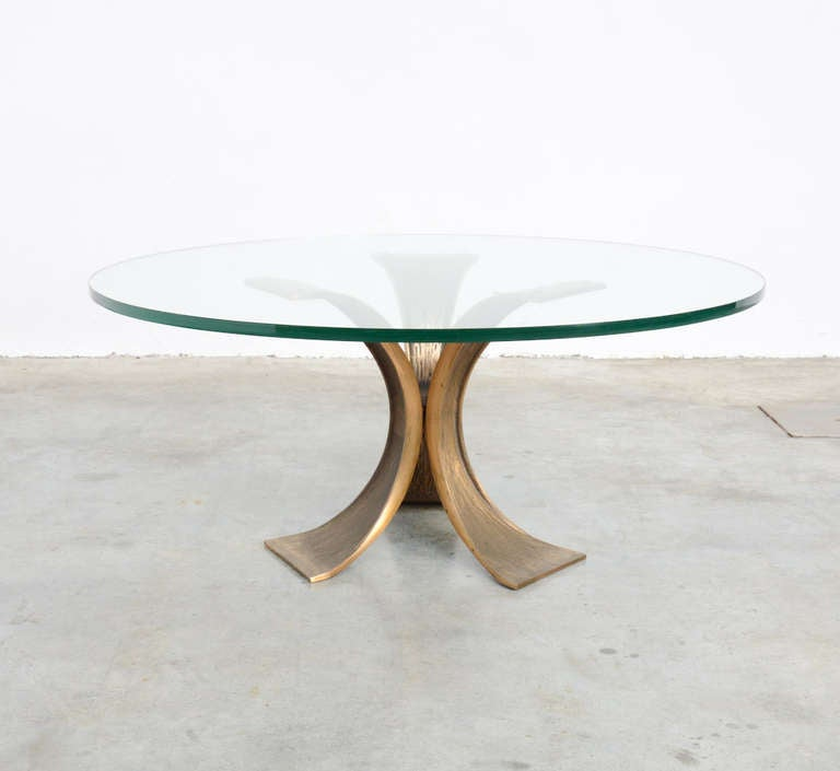 Exclusive brutalist bronze coffee table at 1stdibs Exclusive coffee tables