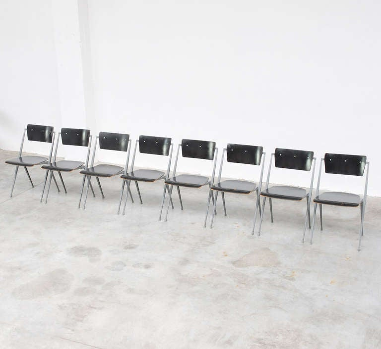 Pyramid Chairs by Wim Rietveld for De Cirkel 4