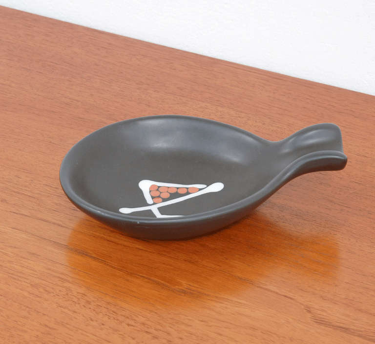 Bowl by André Baud, Vallauris In Excellent Condition For Sale In Vlimmeren, BE