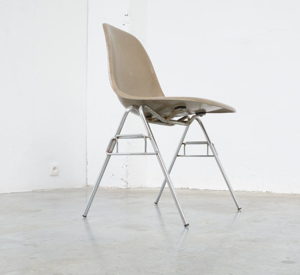 Fiberglass Side Chairs by Charles and Ray Eames for Herman Miller 10