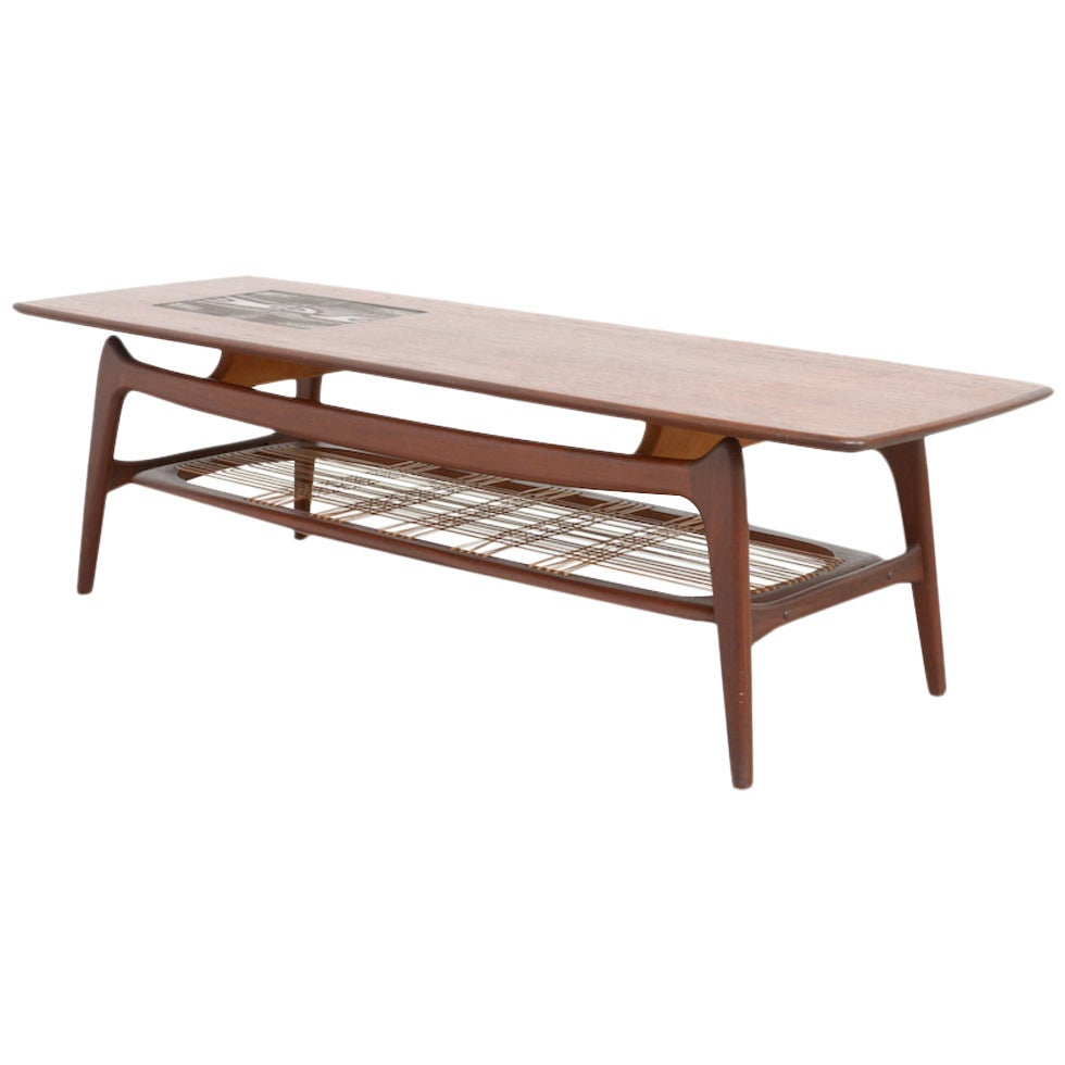 Organic Coffee Table By Louis Van Teeffelen For Webe At 1stdibs