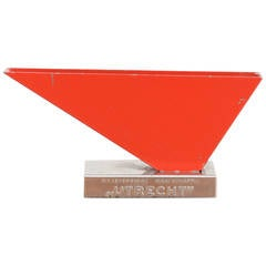 Metal Letter Holder by Wim Rietveld