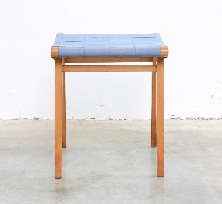 Rare Stool Quot 600 Series Quot By Jens Risom For Knoll