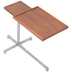 1930s Industrial Adjustable Side Table